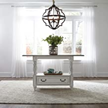 Liberty Furniture Industries Magnolia Manor Gathering Table, W60 x D35 x H36, White