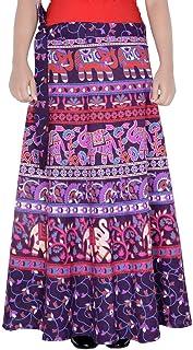 Rajvila Rajasthani Jaipuri Print Skirt for Women Comfortable Skirt for Women (F_W40NT_0004)