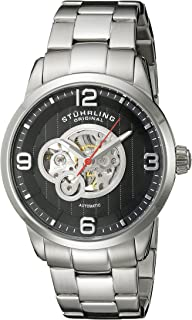 Men's 648B.02 Legacy Automatic Skeleton Stainless Steel Watch