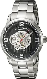 Stuhrling Original Men's 648B.02 Legacy Automatic Skeleton Stainless Steel Watch
