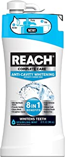 Reach Complete Care 8-In-1 Plus Whitening Mouth Rinse, 32 Fl. Oz./946 mL, Pack of 4