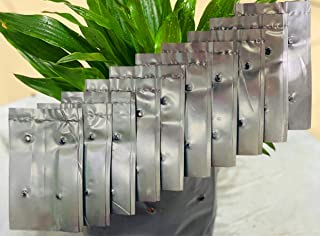 Seeding Bags Small Plant Grow Bags Plastic Seedling Raising Pots Gardening Supply for Home Garden   100 Pcs