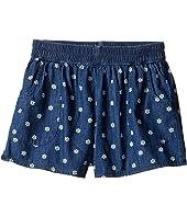 Splendid Littles - Printed Denim Shorts (Big Kids)