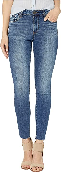 Ellie High-Rise Skinny Jeans in Bismark