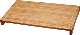 Lipper International 8831 Bamboo Wood Over-The-Sink/Stove Kitchen Cutting and Serving Board, Large, 20-1/2