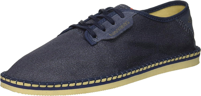 Havaianas Men's Sneaker Casual Layers Espadrille Navy blueee