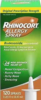 Best Rhinocort Allergy Spray, 120 Sprays, 0.285 fl oz Review