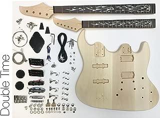 DIY Electric Guitar Kit - Double Neck Guitar and Bass