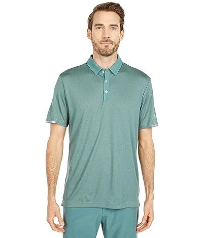 adidas Golf Heat.Rdy Base Polo Shirt (Tech Emerald Melange) Men