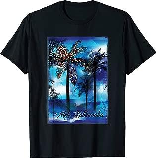 Mele Kalikimaka T Shirt Hawaii Beach Holiday Adult Kids Teen