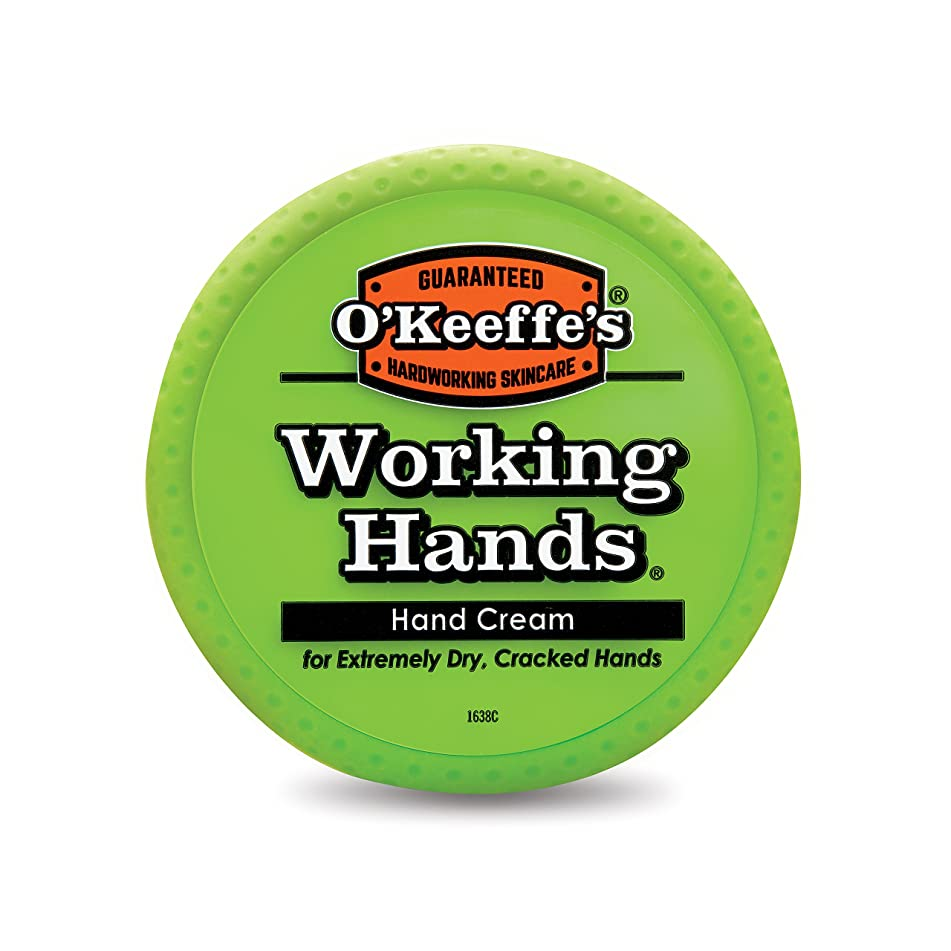 O'Keeffe's Working Hands Hand Cream, 3.4 ounce Jar
