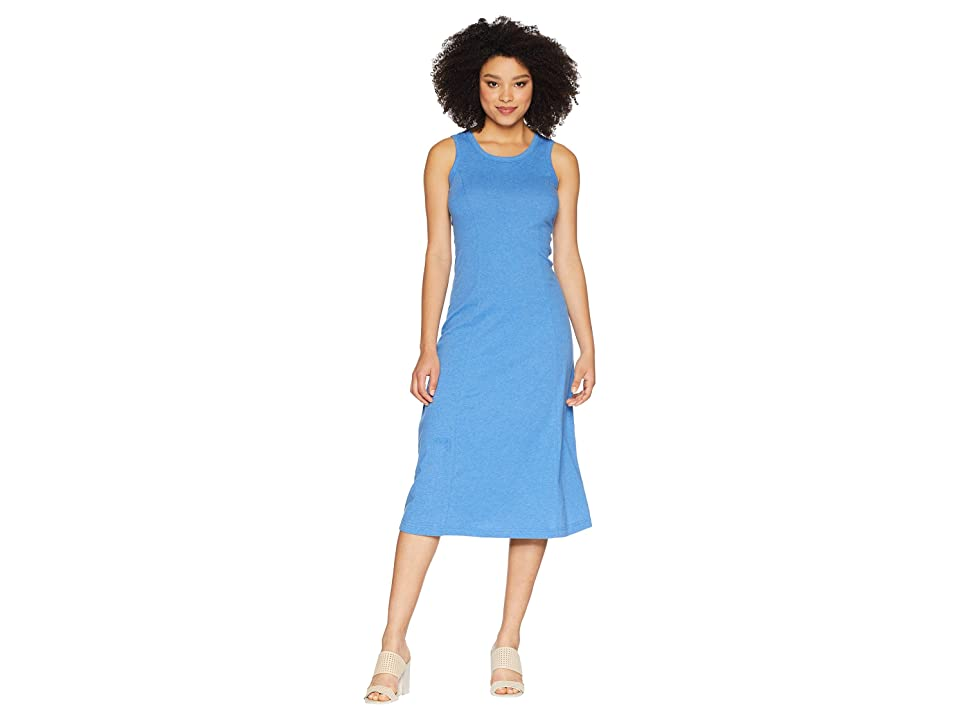 Joules Rosa Jersey Midi Dress (Chambray) Women