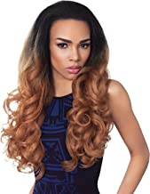 Outre Synthetic Hair Half Wig Quick Weave Stunna (1B)