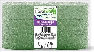 FloraCraft FloraFōM 6 Piece Disc 1 Inch x 2.8 Inch Green