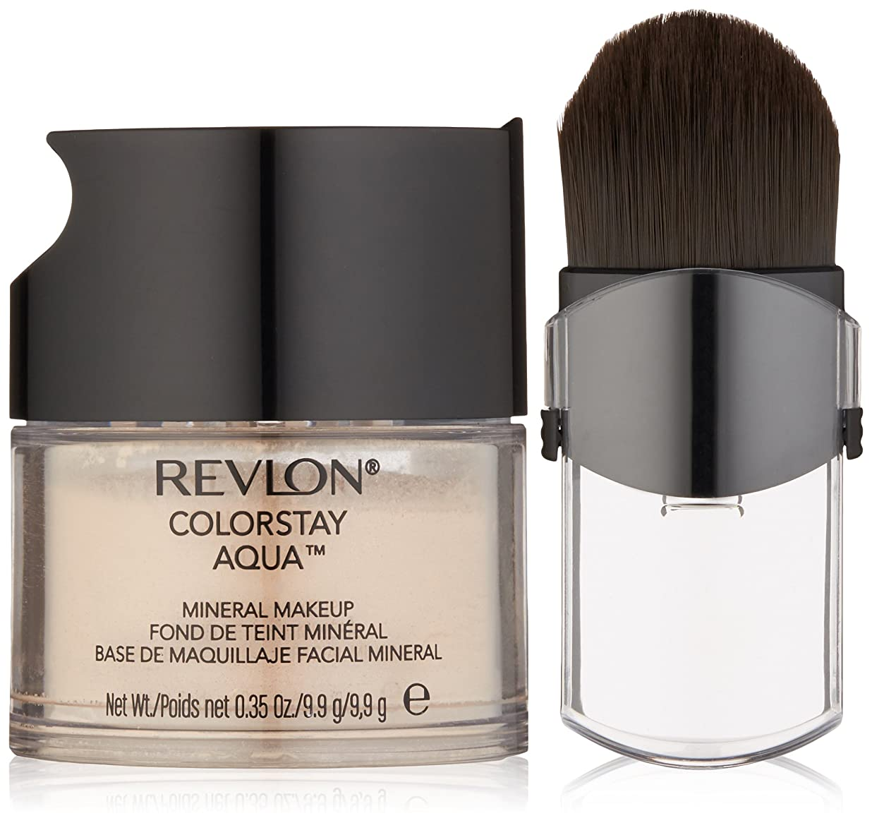 乗り出す歴史追い払うREVLON COLORSTAY AQUA MINERAL MAKEUP #040 LIGHT MEDIUM
