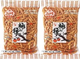 Japanese Traditional Rice Crackers : Nori Maki Arare/ Kaki No Tane 2packs (Kaki No Tane Original)