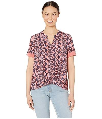 Royal Robbins Spotless Traveler Short Sleeve Top (Grenadine Print) Women