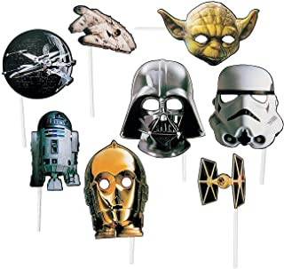Star Wars Photo Props (8 pieces) Birthday Party Supplies