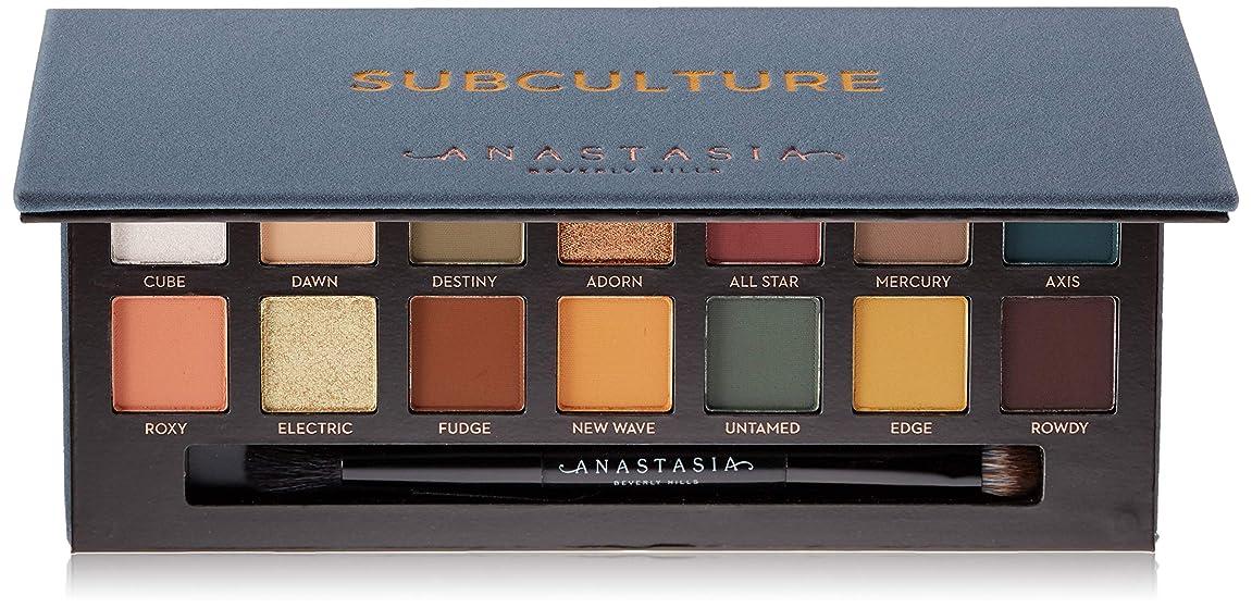 守銭奴未亡人高さANASTASIA BEVERLY HILLS Subculture Eyeshadow Palette