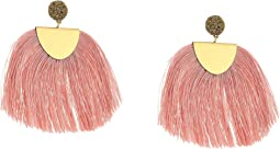 Lucky Brand Blush Fringe Earrings