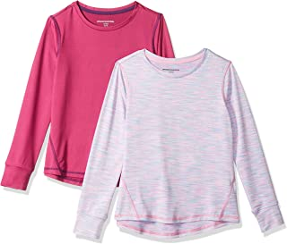 Girls' 2-Pack Long-Sleeve Active Tee