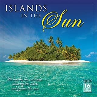 Islands in the Sun 2019 Wall Calendar