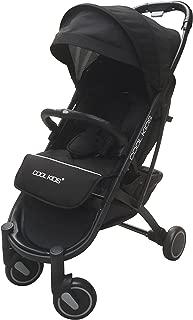 エンドー COOL KIDS CKストローラー Pro ブラックBK 折りたたむと高さ60cmのコンパクトサイズに