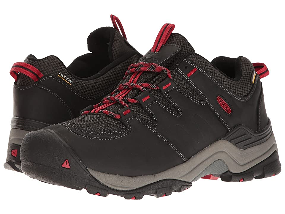 Keen Gypsum II Waterproof (Black/Tango) Men