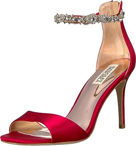 Badgley Mischka Wohommes Sindy Heeled Sandal, rouge, 7.5 M US US  soutenir le commerce de gros