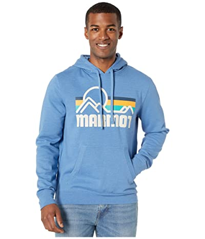 Marmot Coastal Hoodie (Varsity Blue Heather) Men