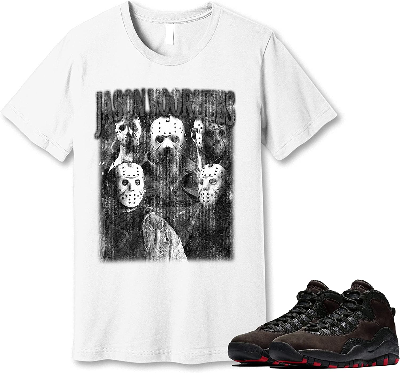 #Jason #Voorhees T-Shirt to Match Jordan Mocha Dark S High quality new 10 Sneaker shop
