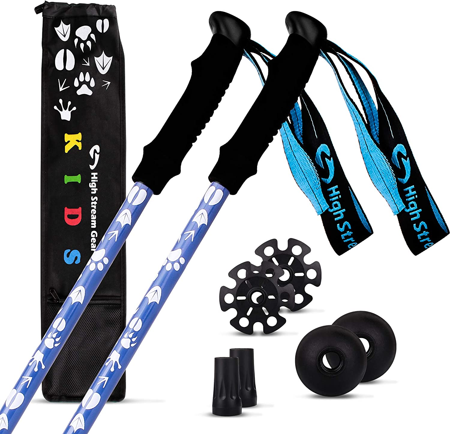 High Stream Gear Limited time trial price Louisville-Jefferson County Mall Kids Trekking Telescop Collapsible Poles –