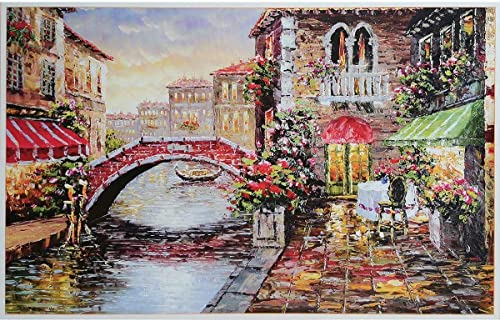 """wholesale Water City Venice Greatview Paintings Jigsaw wholesale Puzzle, Jigsaw Puzzles for Adults 1000 Piece Large Puzzle - 27.56"""" x sale 19.69"""" outlet online sale"""