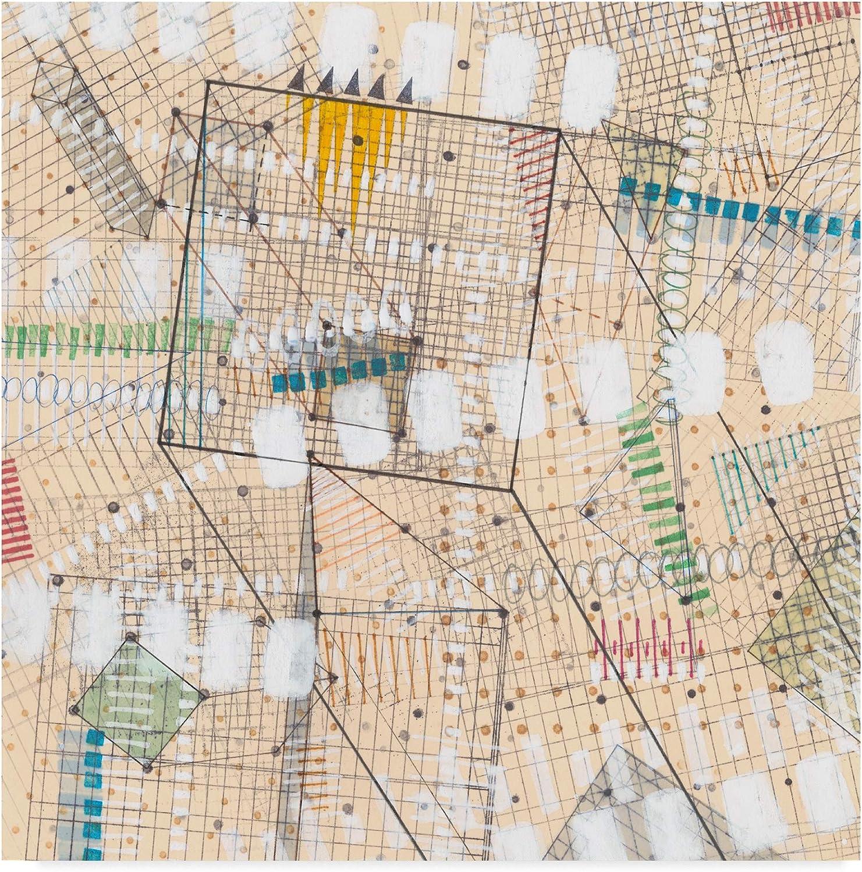 Trademark Fine Art Grid Lines I by Nikki Galapon, 14x14