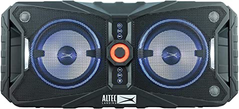 Xpedition 850 Portable, Waterproof, Floating Bluetooth Speaker with Multi-Colored LED Light Show and Stereo Pairing