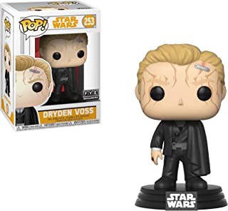 Funko Dryden Voss (f.y.e. Exclusive): Solo - A Star Wars Story x POP! Vinyl Figure + 1 Official Star Wars Trading Card Bun...