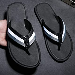 Summer Men Rubber Slippers Comfortable Breathable Beach Classic Casual Flatsmenluxuryshoes