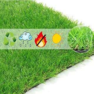 Scorbio Artificial Grass Mat Puppy Potty Traning Pad Synthetic Grass Porch Patch for Dogs Replacement Pet Turf Indoor Outdoor Flooring Runner Fake Grass Doormat