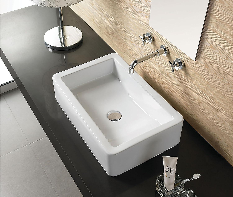 激安格安割引情報満載 Elimax's Bathroom Ceramic Porcelain 定価の67%OFF Vessel Sink 7813 With C Free