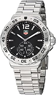TAG Heuer Men's WAU1112.BA0858 Formula 1 Black Dial Stainless Steel Watch