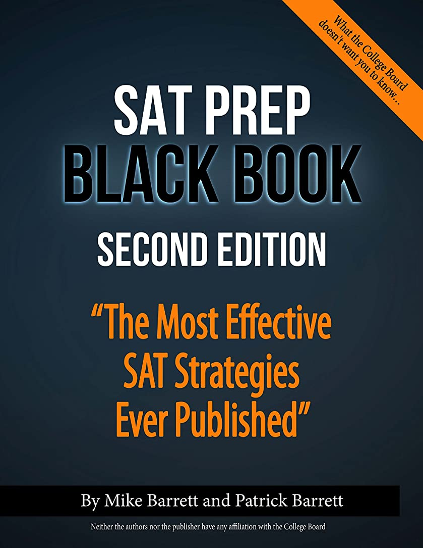 モンゴメリー深くスポーツの試合を担当している人SAT Prep Black Book: The Most Effective SAT Strategies Ever Published (English Edition)