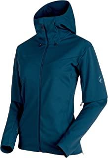 Ultimate V So Hooded Jacket Women; Jay-Jay Melange; XS