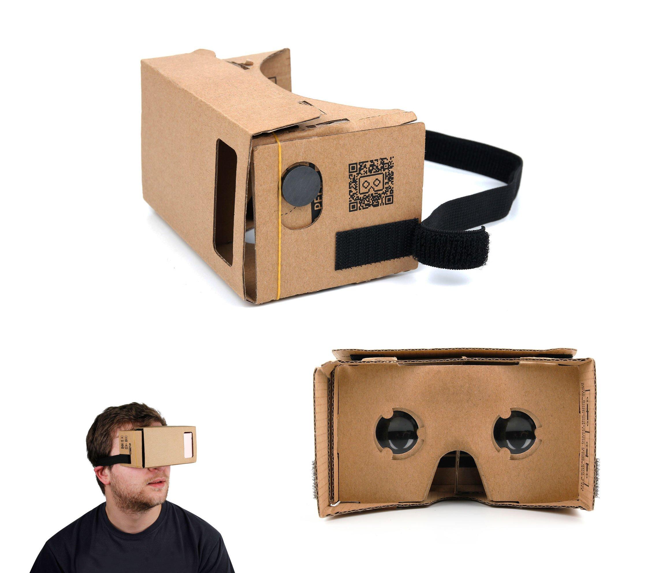 DURAGADGET Gafas de Realidad Virtual VR para Smarphones Smartphone UMIDIGI Diamond | Diamond X | Doogee X5 MAX | MAX Pro | Shoot 1 | Cubot Rainbow 2: Amazon.es: Electrónica