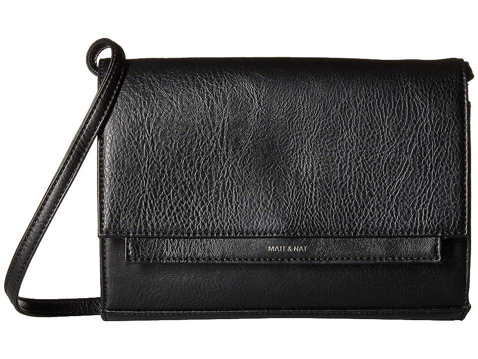 Matt & Nat Dwell Silvi (Black) Handbags