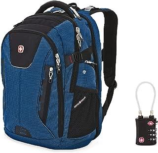 SWISSGEAR 5358 ScanSmart USB Backpack Blue Blue