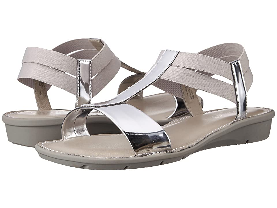 Munro Ideal (Silver Mirror/White Elastic) Women