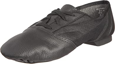 Capezio 458 Black Split Jazz Shoe