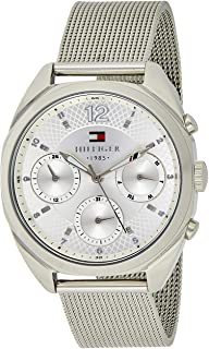 Tommy Hilfiger Women's 1781628 Sophisticated Sport Silver-Tone Stainless Steel Watch, Analog Display