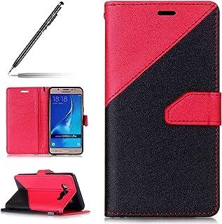 Galaxy S7 Coque Dooki S7 Coque A-2 Supporter Portemonnaie Flip PU Cuir Housse Coque Étui Etui pour Samsung Galaxy S7 Avec Crédit Carte Tenant Fente et Main Dragonne