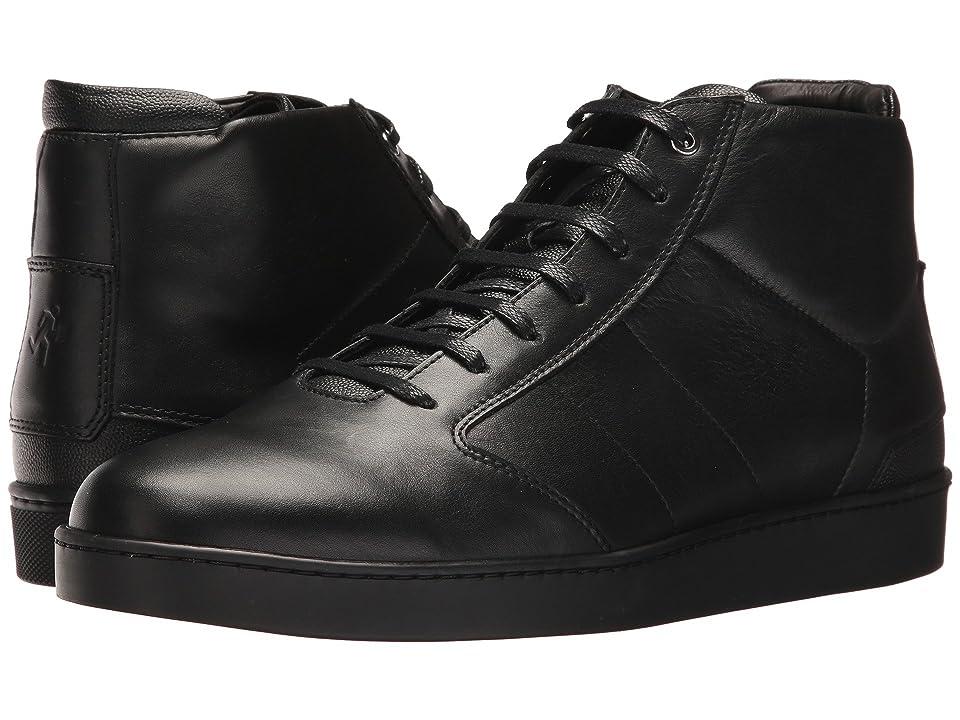 WANT Les Essentiels Lennon Mid Sneaker (Multi Black/Black) Men